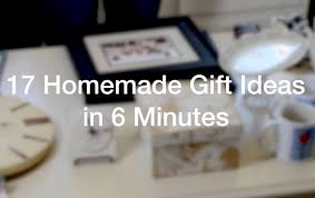 Homemade Gift Ideas by 17 Homemade Gift Ideas In 6 Minutes Anoregoncottage Com Youtube