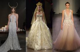 wedding gowns nyc designer wedding gowns the best fall winter 2016 collections from