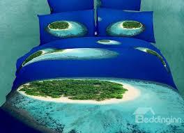 Beachy Duvet Cover Amazing Tropical Islands Beach 4 Piece Bedding Sets Duvet Cover