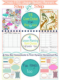 free home school other planners