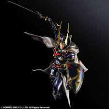 Warrior Of Light Amazon Com Final Fantasy Variant Play Arts Kai Hero Of Light