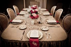 victorian dining table setting idea victorian style dining room