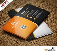 corporate business card bundle free psd psdfreebies