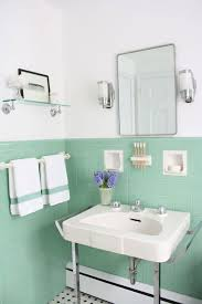 White And Green Bathroom - easy mint green bathroom tile in decorating home ideas with mint