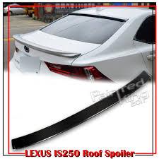 lexus is 250 convertible for sale south africa carbon fiber lexus is200t is250 sedan d type window roof spoiler
