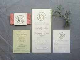 wedding invitation suite laurel wedding invitation suite tea length style with