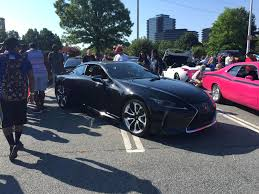 lexus lc 500 interior black lc 500 spotted at cars and coffee lexus lc500 forum