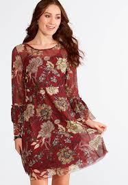 midi dress floral mesh midi dress plus midi cato fashions