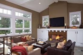 Traditional Living Room Paint Color Ideas Our Home Pinterest - Brown paint colors for living room