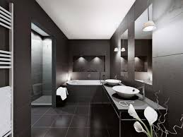 Pendant Lighting Over Bathroom Vanity Bathroom 2017 Excellent Black Bathroom Using Modern Touch