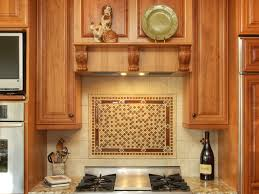 Tile Backsplash by Interior Awesome Wooden Kitchen Cabinets With Stainless