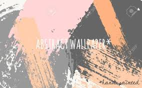 color palette gray hand drawn brush strokes wallpaper design pastel orange pink