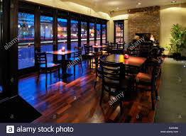 post modern restaurant interior in england stock photo royalty