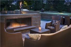 Stone Fireplace Kits Outdoor - amazing outdoor fireplace design landscaping network regarding