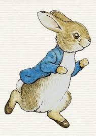 rabbit poster beatrix potter rabbit poster picture photo decor print