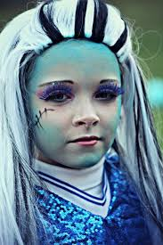 Monster High Halloween Costumes Frankie Stein by Makeup Ideas Frankie Stein Makeup Beautiful Makeup Ideas And