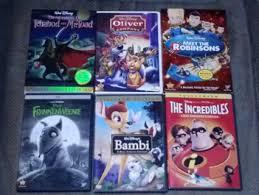 free 6 disney dvds bambi incredibles frankenweenie meet