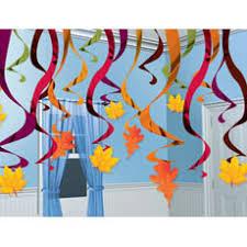 fall hanging swirl decor