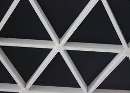 extruded triangle commercial ceiling tiles aluminum suspending
