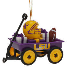 football lsu tigers ncaa ornaments ebay