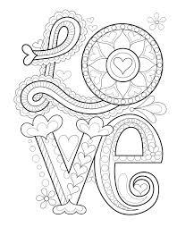 peace u0026 love coloring book design originals thaneeya mcardle