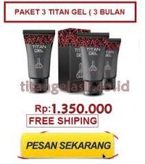 harga titan gel asli di indonesia harga pasaran titan gel obat