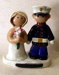 wedding cake toppers army wedding cake toppers