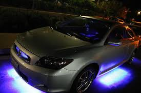 Led Strip For Car Interior 4x White 20