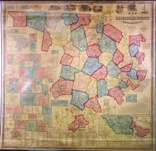 Chatham Ma Map Spectacular H F Walling Map Of Middlesex County Mass Rare