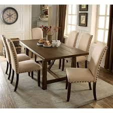 few piece dining room set the quality of life home brentford dining table cm3538t how about a few rustic pieces for