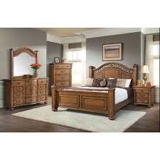 picket house furniture bq600kb barrow king bed in oak finish w
