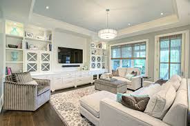I Like That The Builtins Arent All Open Shelves Family Room - Family room built ins