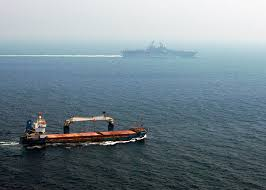 Us Flagged Merchant Ships File Us Navy 040705 N 2972r 040 A Merchant Ship Sails Off The