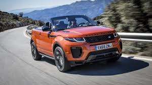 land rover car first drive the range rover evoque convertible top gear