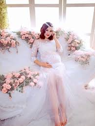 wedding dress rent jakarta selena wang maternity gown