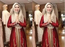 model baju kebaya muslim model kebaya muslim modern gaya klasik bertabur payet