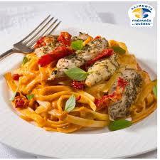 tomates cuisin s repas cuisinés fettuccine poulet tomates séchées saveurs santé