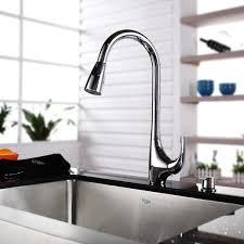 Kraus Kitchen Faucet Kraus 36 Inch Farmhouse Single Bowl Stainless Steel Kitchen Sink