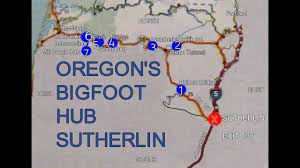 Bigfoot Sightings Map Bigfoot Event Sutherlin Oregon Youtube