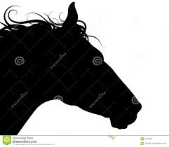 silhouette horse royalty free stock image image 35601546