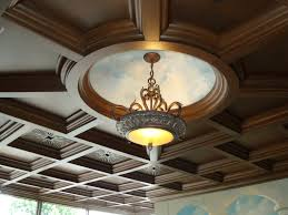 Ideas For Drop Ceilings In Basements Coffered Ceiling Tiles For Basement Floor Decoration