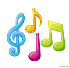 Imagenes De Notas Musicales A Color | notas musicales de colores stock photo and royalty free images on