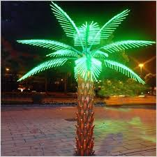 palm tree solar lights solar tree lights solar palm tree lights a unique with led light