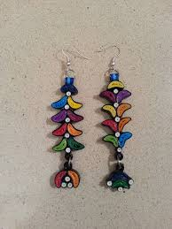easy earrings diy colourful quilled earrings easy bisutería quilling