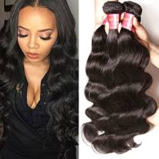 12 inch weave length hairstyle pictures amazon com longqi hair brazilian virgin hair body wave 3 bundles