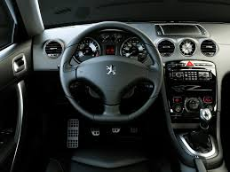 peugeot 406 coupe interior 2007 peugeot 308 rc z concept pictures history value research