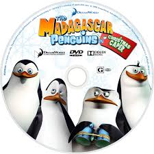 the madagascar penguins in a christmas caper movie fanart