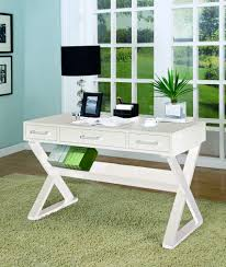 Computer Desk In White by White Office Desk Cst 800912 Coaster Furniture 800912 The Classy