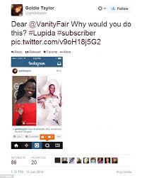 Light Skinned Jokes Vanity Fair Magazine Accused Of Lightening 12 Years A Slave U0027s