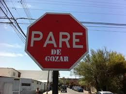 pare de un signo pare de arica fue blanco de una típica broma chilena